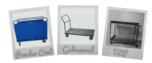 Trolleys made to order finishes
