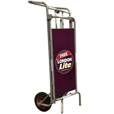 Folding Mail Stand Trolley
