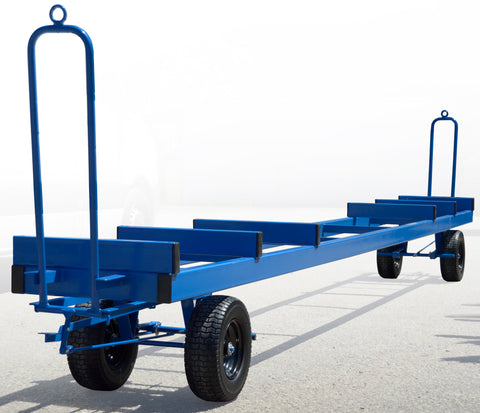Double Ended Long Load Turntable Trolley