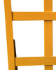 Heavy Duty Hand Truck Trolley Powder Coating In Safety Yellow