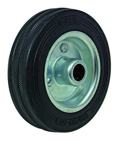 8 Inch Solid Sack Truck Wheel (1 Inch / 25.4mm Axle)