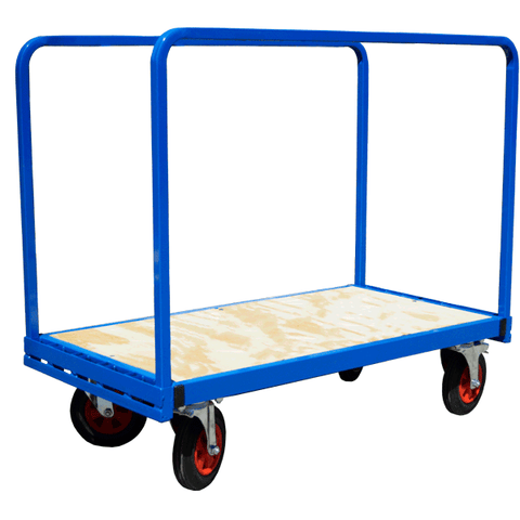 Adjustable Double Sided Trolley with Open Sides