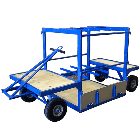 Facilities Bulk Cylinder/Gas Bottle Trolley - 16 bottle capacity