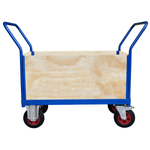 4 Sided Ply Board Platform Truck