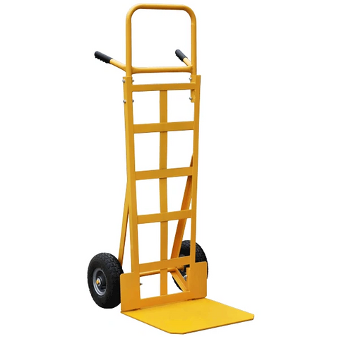 Industrial Sack Truck With High Back