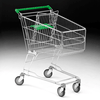120 Litre Shopping Trolley with Baby Carrier