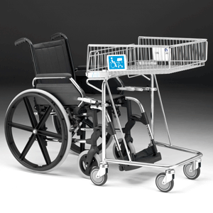 Wheelchair Friendly 62 Litre Shopping Trolley