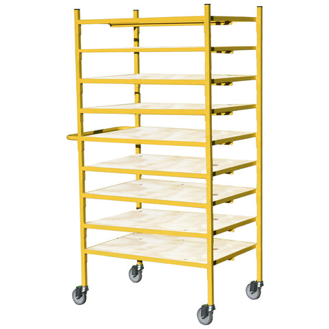 9 Tier Shelf Trolley