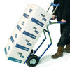 Cheap Aluminium Hospital Oxygen Bottle Trolley loaded and in use as standard sack truck