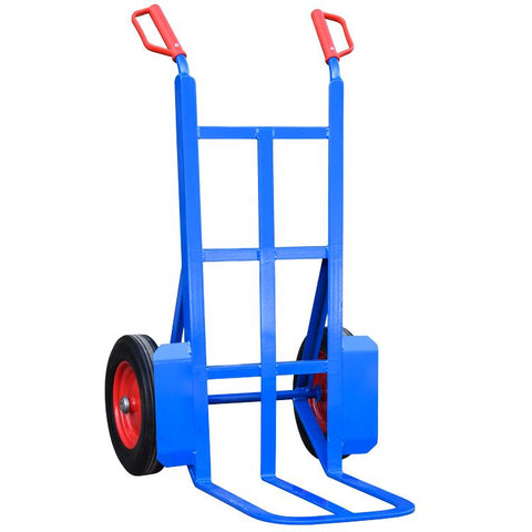 Rough Terrain Sack Truck with large footplate