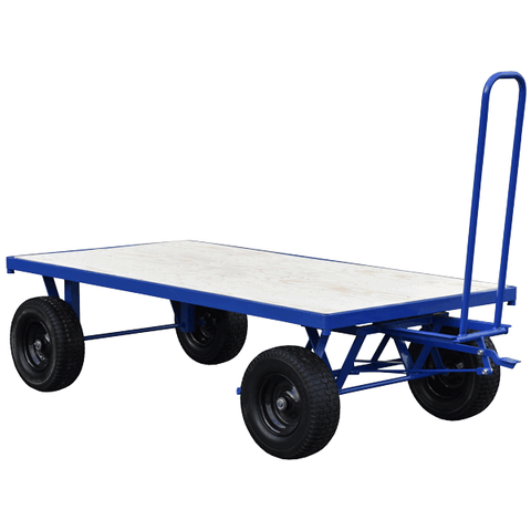 Turntable Trolley with Brake
