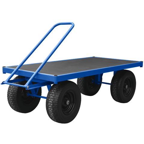 Heavy Duty Turntable Trolley with 1 Ton Capacity