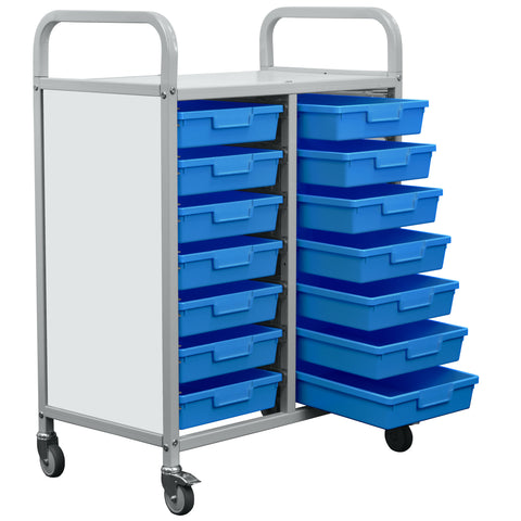 EDUK8 School Tray Rack Trolley