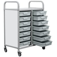 Classroom Antibacterial Tray Rack Trolley