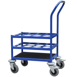 Oxygen Cylinder Trolley for 12 bottles