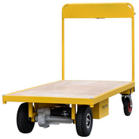 Electric Powered Flatbed Trolley