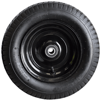 390mm Pneumatic Wheel for Turntable Trolley or Sack Truck to fit a 20mm Axle