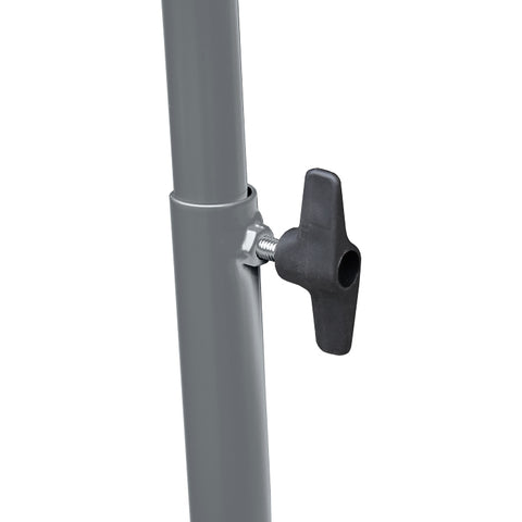 Hospital V Infusion Drip Stand adjustable height hook post
