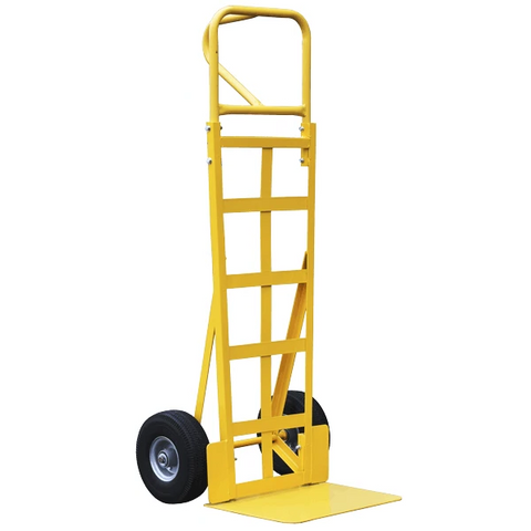 P Shaped Handle Sack Truck With High Back