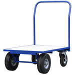 Small Rough Terrain Flatbed Trolley