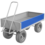 Turntable Trolley - Single Side Panel