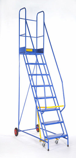 11 Tread Heavy Duty Mobile Steps for for picking at 4350mm