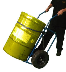 Oil Drum Sack Truck and Cradle is simple  yet very effective dual use hand truck for use with 210 liter...