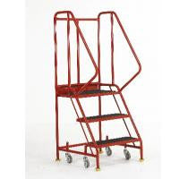 Mobile Steps 3 Tread  with Retracting Castors