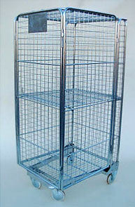 4 Sided Roll Cage Full Security Galvanized - HIHTC4623