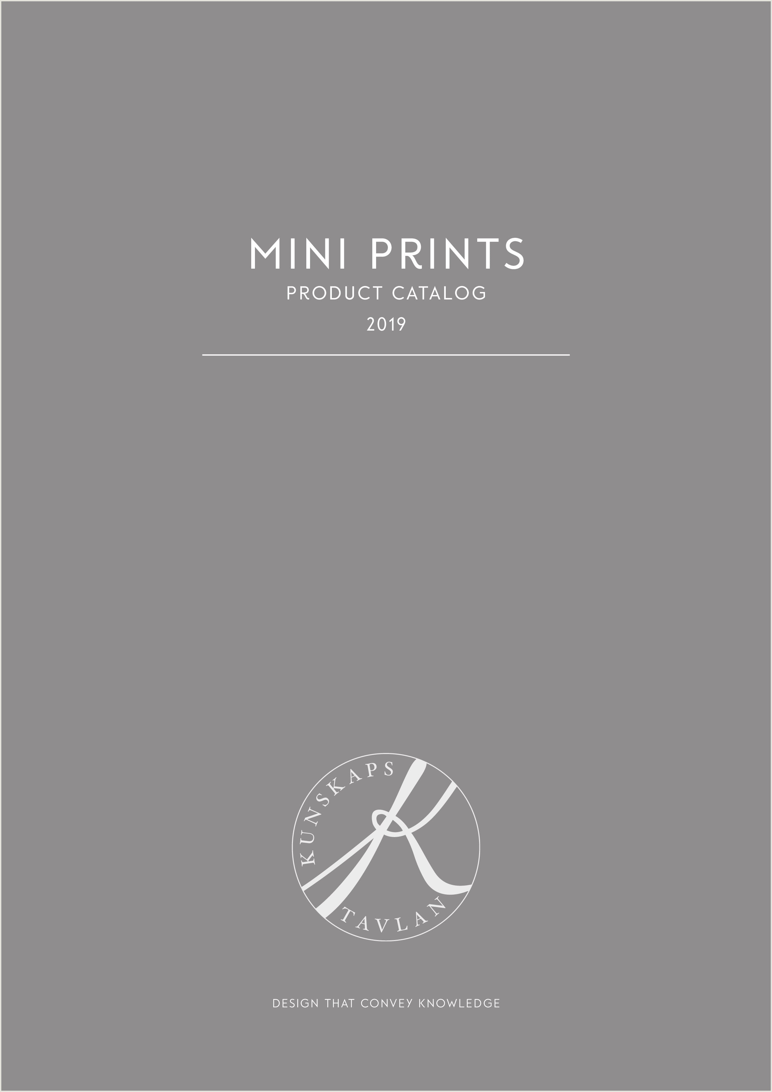 Kunskapstavlan mini prints product catalog
