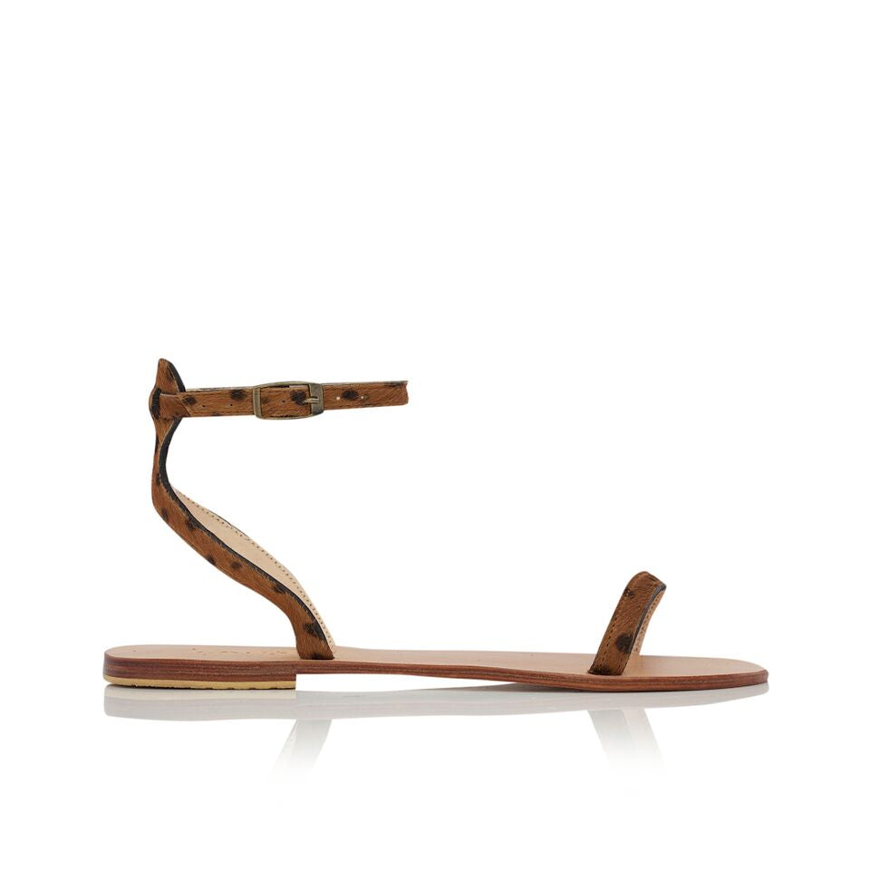 SERENGETI SANDALS - BROWN CHEETAH
