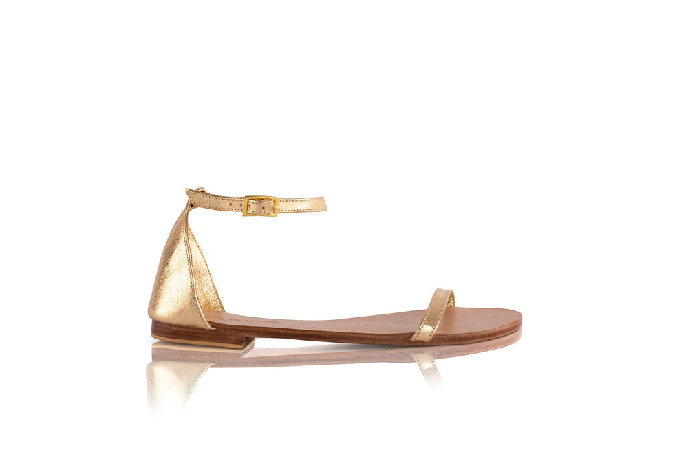 ELOISE SANDALS - GOLD (MADE TO ORDER)