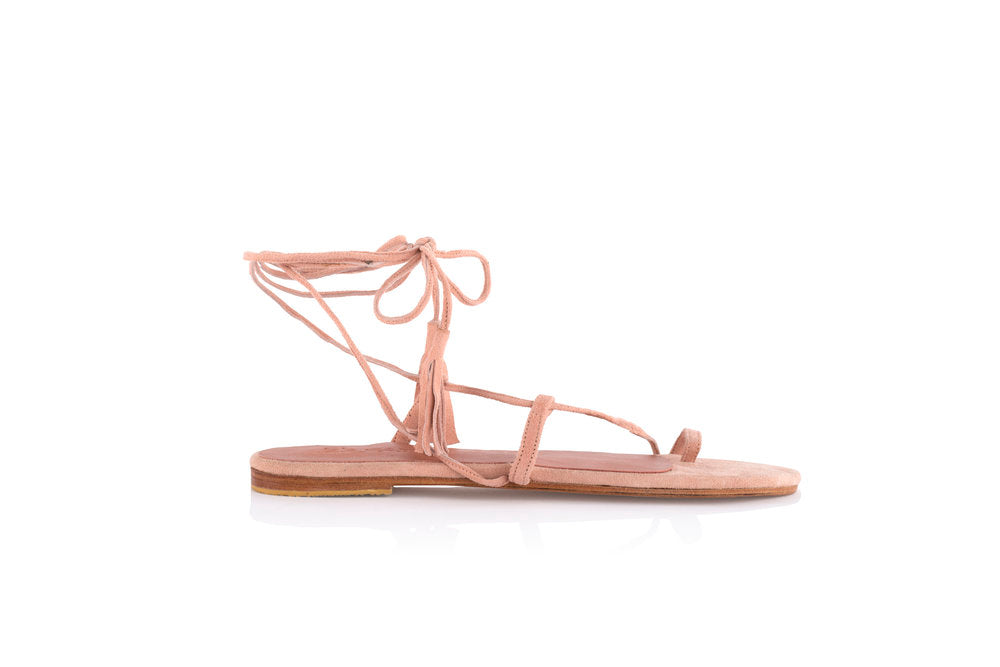 CAT SANDALS - BLUSH (MADE TO ORDER)