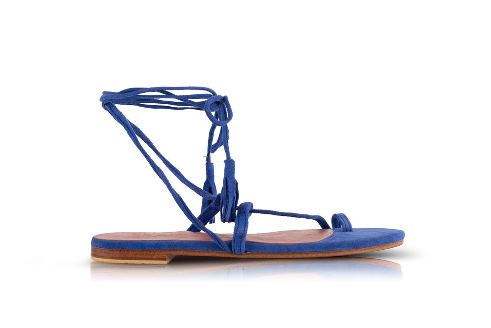 CAT SANDALS - ELECTRIC BLUE (MADE TO ORDER)