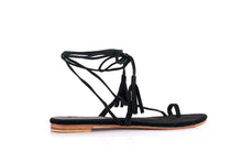 Load image into Gallery viewer, CAT SANDALS - BLACK