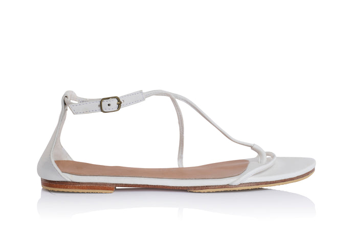 DAISY SANDALS - WHITE