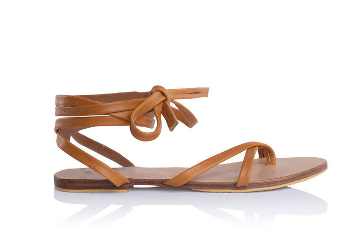 ISABELLA SANDALS - TAN