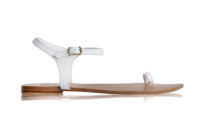 ZIGGY SANDALS - WHITE