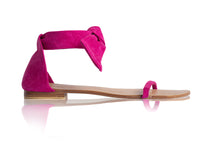 Load image into Gallery viewer, AMELIE SANDALS - BRIGHT PINK