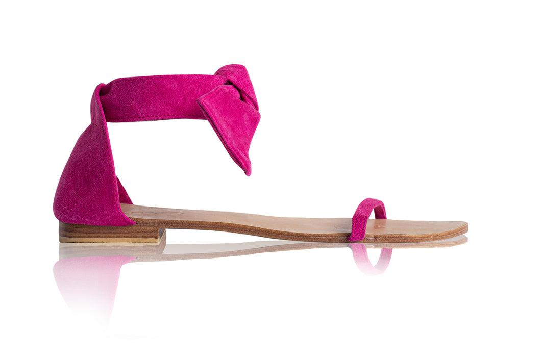 AMELIE SANDALS - BRIGHT PINK