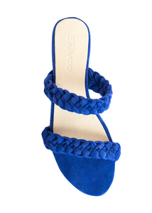 PAMMY SANDALS - ELECTRIC BLUE