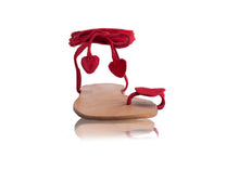 Load image into Gallery viewer, VALENTINE SANDALS - RED