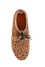 Load image into Gallery viewer, FLORENCE BROGUES - BROWN CHEETAH (MADE TO ORDER)