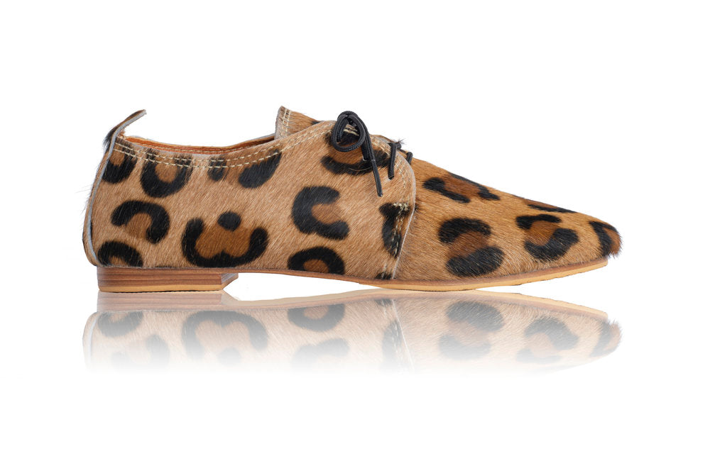 FLORENCE BROGUES - LEOPARD