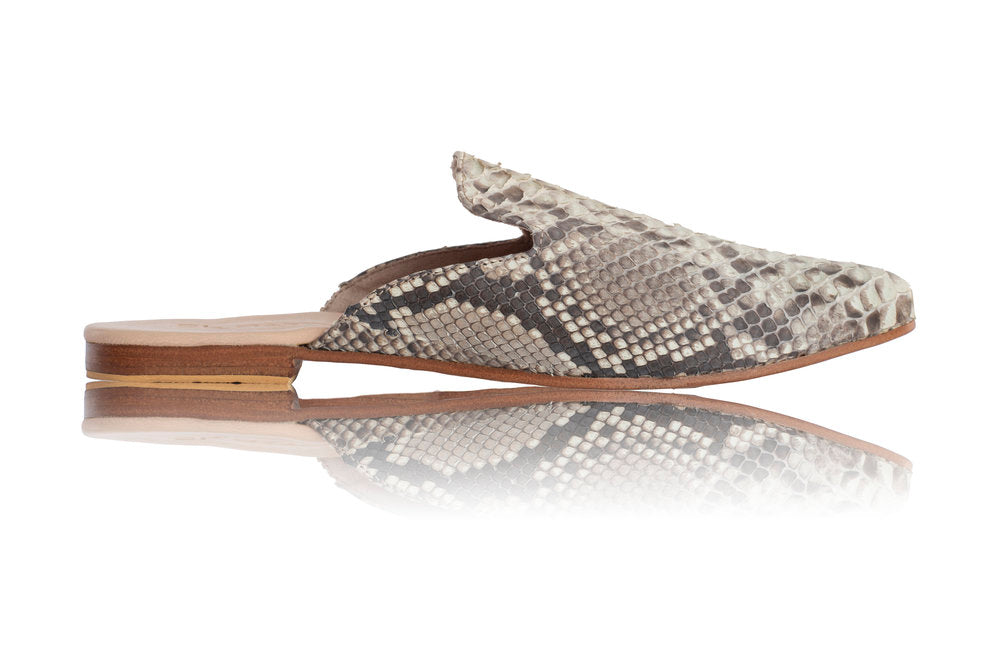ADELINE MULES - PYTHON (MADE TO ORDER)