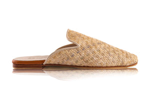 ADELINE MULES -  RATTAN (MADE TO ORDER)