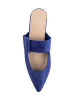 Load image into Gallery viewer, AVA BUCKLE POINTS - COBALT BLUE (MADE TO ORDER)