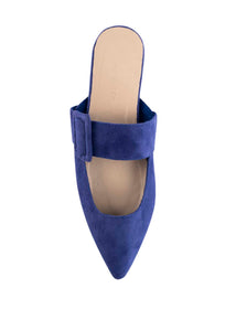 AVA BUCKLE POINTS - COBALT BLUE (MADE TO ORDER ONLY)