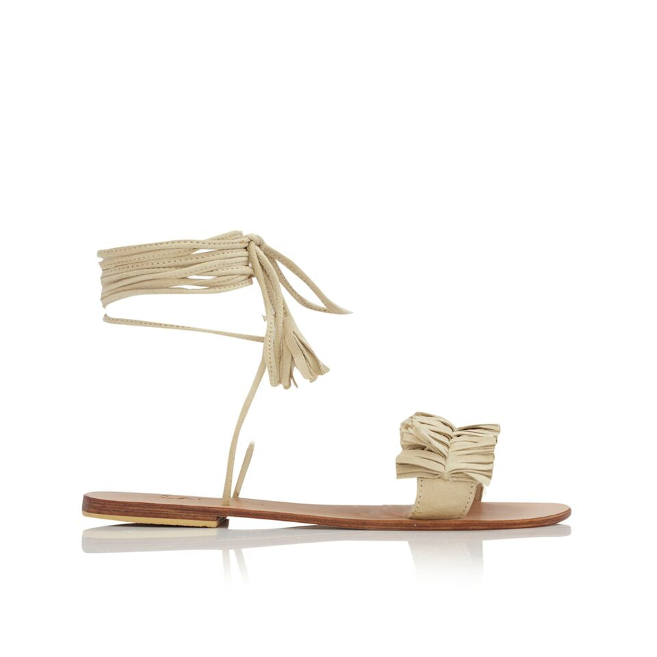 ZSA ZSA SANDALS - NUDE
