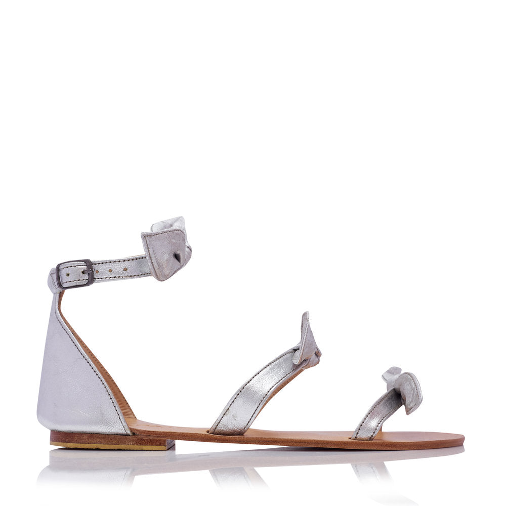 LOLA SANDALS - SILVER